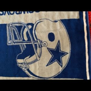NFL Bedding - Authentic NFL Dallas Cowboys Large Throw/Blanket!